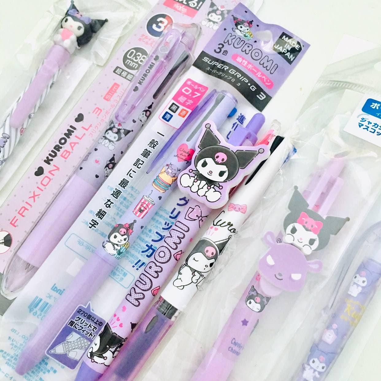 kuromi-pen-and-pencil