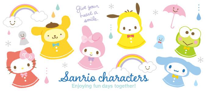 Sanrio Happy Rainy Days