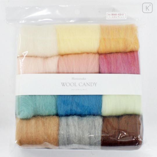 Japan Hamanaka Wool Candy 12-Color Set - Peer Selection - 2