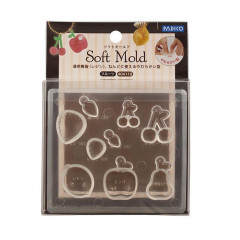 Japan Padico Clay & UV Resin Soft Mold - Fruit