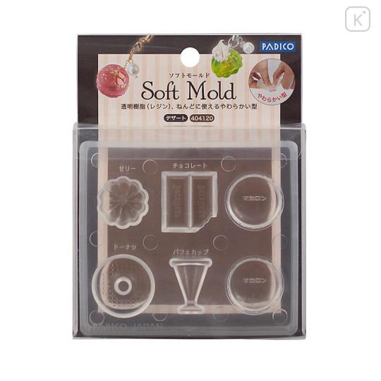 Japan Padico Clay & UV Resin Soft Mold - Dessert - 1