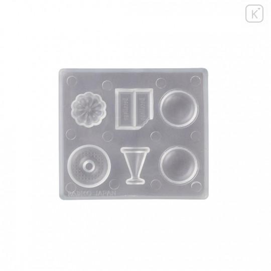 Japan Padico Clay & UV Resin Soft Mold - Dessert - 2