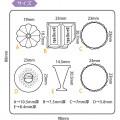 Japan Padico Clay & UV Resin Soft Mold - Dessert - 3