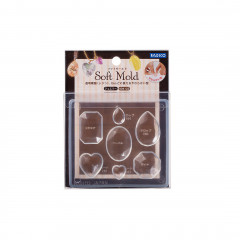 Japan Padico Clay & UV Resin Soft Mold - Jewelry