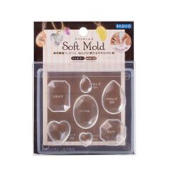 Japan Padico Clay & UV Resin Soft Mold - Jewelry