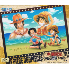 Japan One Piece Jigsaw Puzzle 300pcs - Luffy & Ace
