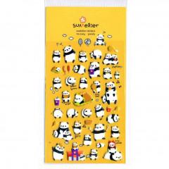 Korea Suatelier Puffy Sticker - Panda