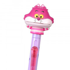 Japan Disney Big Moving Mouth Ball Pen - Cheshire Cat