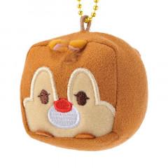 Japan Disney Mini Cube Plush Keychain - Dale