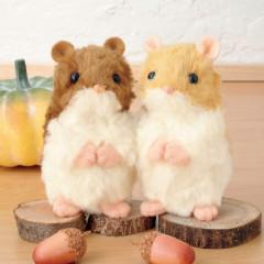 Japan Hamanaka Plush Doll DIY Sewing Kit - Two Hamsters