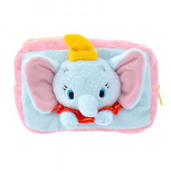 Japan Disney Stuffed Plush Pouch - Dumbo