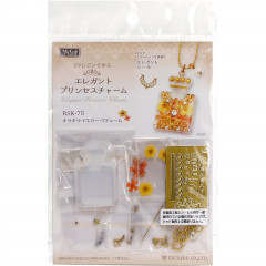 Japan Import DIY UV Resin Craft Kit - Princess Charm