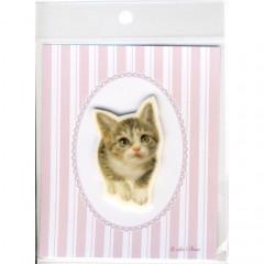 Japan Import Printed Felt Patch - Cat