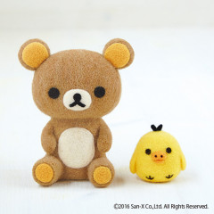 Japan Hamanaka × San-X Wool Needle Felting Kit - Rilakkuma & Kiiroitori