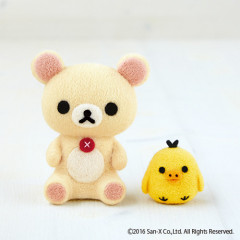 Japan Hamanaka × San-X Wool Needle Felting Kit - Korilakkuma & Kiiroitori