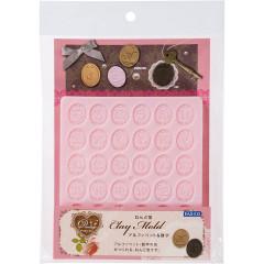 Japan Padico Clay Mold - Alphabet