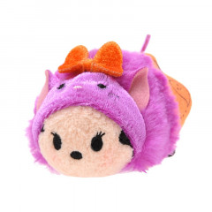 Japan Disney Tsum Tsum Mini Plush (S) - Cat Hat Minnie × Halloween 2015