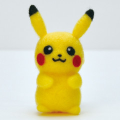 Japan Hamanaka Aclaine Needle Felting Kit - Pokemon Pikachu
