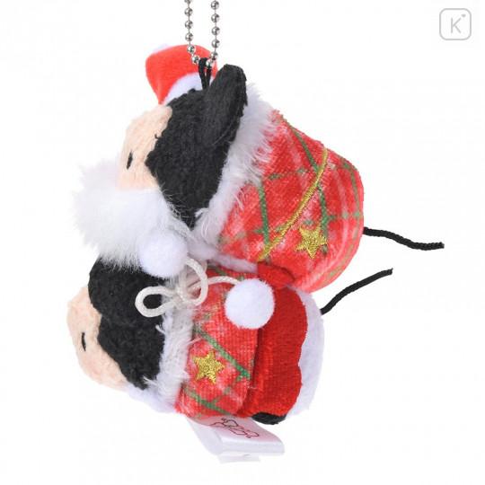 Japan Disney Tsum Tsum Key Chain - Mickey & Minnie × Christmas - 3