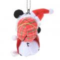 Japan Disney Tsum Tsum Key Chain - Mickey & Minnie × Christmas - 4