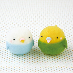 Japan Hamanaka Aclaine Needle Felting Kit - Squishy Bird