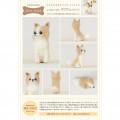 Japan Hamanaka Wool Needle Felting Kit - Long Coat Chihuahua - 3