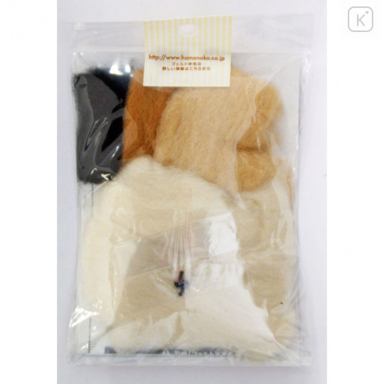 Japan Hamanaka Wool Needle Felting Kit - Long Coat Chihuahua - 4
