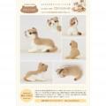 Japan Hamanaka Wool Needle Felting Kit - Scottish Fold Cat - 3