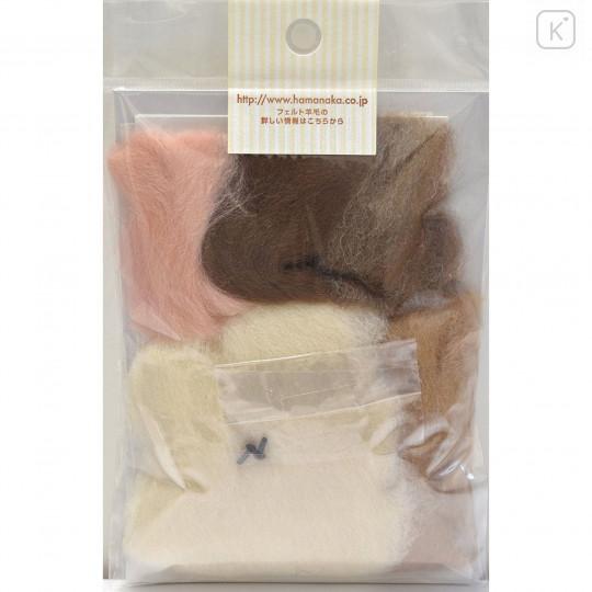 Japan Hamanaka Wool Needle Felting Kit - Scottish Fold Cat - 4