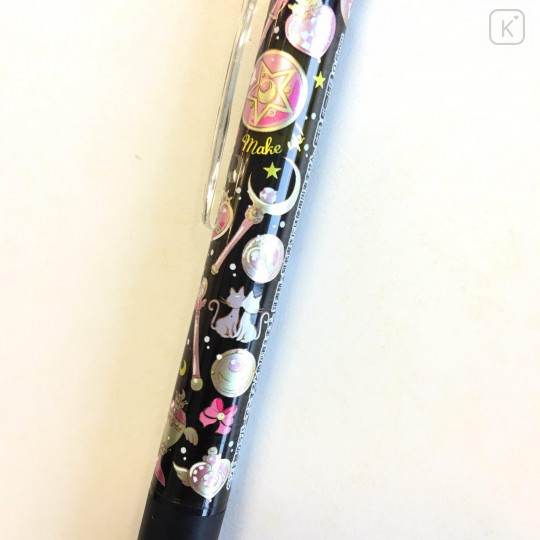 Japan Sailor Moon FriXion Erasable 0.5mm Gel Pen - Black - 1