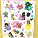 Sailor Moon Transparent Sticker