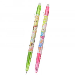 Japan Disney Tsum Tsum × Pilot FriXion Erasable 0.38mm Gel Pen 2pcs - Ice Cream