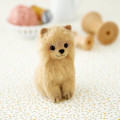 Japan Hamanaka Wool Needle Felting Kit - Pomeranian - 1