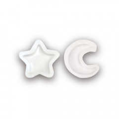 Japan Kiyohara Mini Silicone Motif Mold - Star & Moon