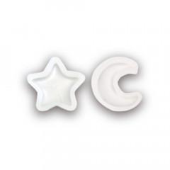 Japan Kiyohara Mini Silicone Motif Mold - Star & Moon