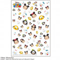 Japan Disney Tsum Tsum UV Resin Film Transparent Sheet - Mickey & Friends - 1