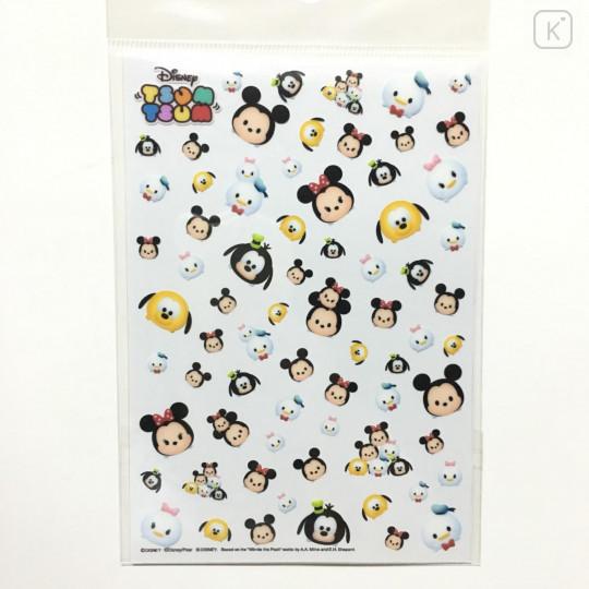 Japan Disney Tsum Tsum UV Resin Film Transparent Sheet - Mickey & Friends - 2