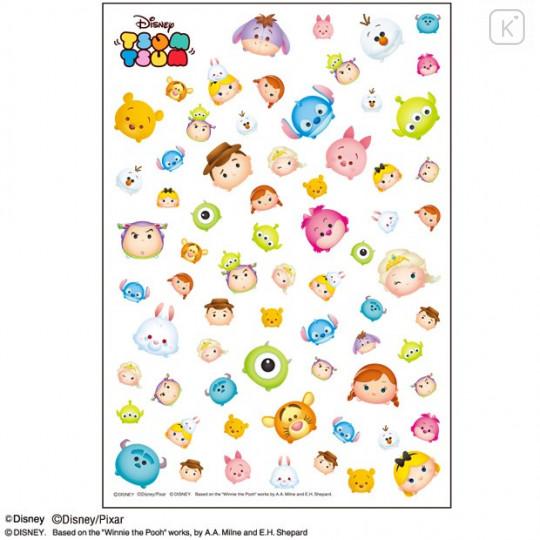 Japan Disney Tsum Tsum UV Resin Film Transparent Sheet - Characters - 1