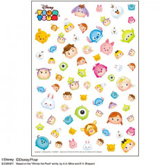 Japan Disney Tsum Tsum UV Resin Film Transparent Sheet - Characters