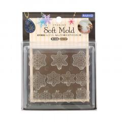 Japan Padico Clay & UV Resin Soft Mold - Snow Crystal