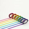 Japan MT Washi Masking Tape - Rainbow Set - 1