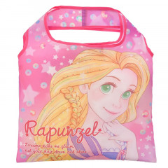 Japan Disney Eco Shopping Bag - Pink Tangled Rapunzel Luna