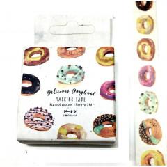 Japanese Washi Masking Tape - Doughnut