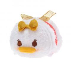 Japan Disney Tsum Tsum Mini Plush - Daisy × Christmas