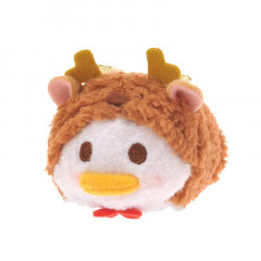 Japan Disney Tsum Tsum Mini Plush - Donald × Christmas