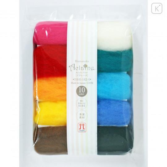 Japan Hamanaka Aclaine Acrylic Fiber 10-Color Set - H441-142-4 - 2