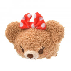 Japan Disney Tsum Tsum Mini Plush - UniBEARsity Pudding