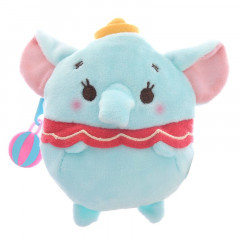 Japan Disney ufufy Coin Case Zipper Pouch - Dumbo