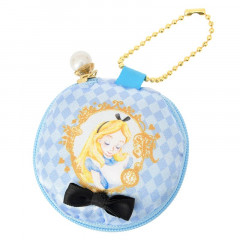 Japan Disney Coin Case Purse- Alice in the Wonderland Macaroon