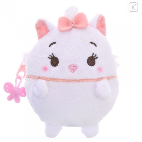 Japan Disney Ufufy Coin Case Wallet Pouch - Marie - 1